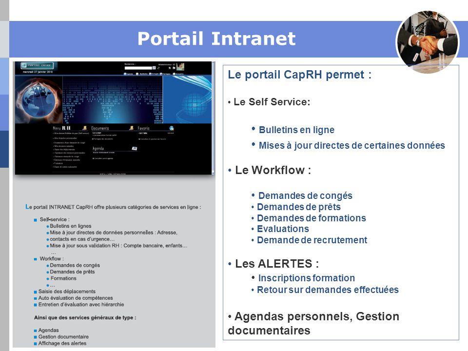 Portail Intranet Bulletins en ligne