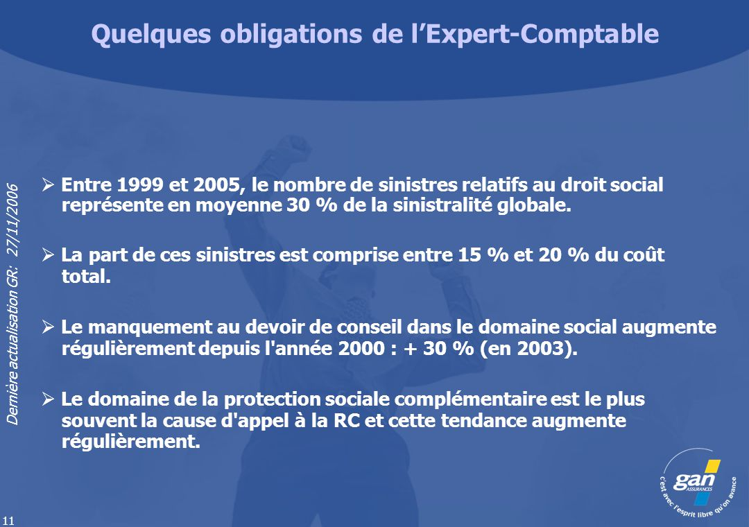 Quelques obligations de l'Expert-Comptable