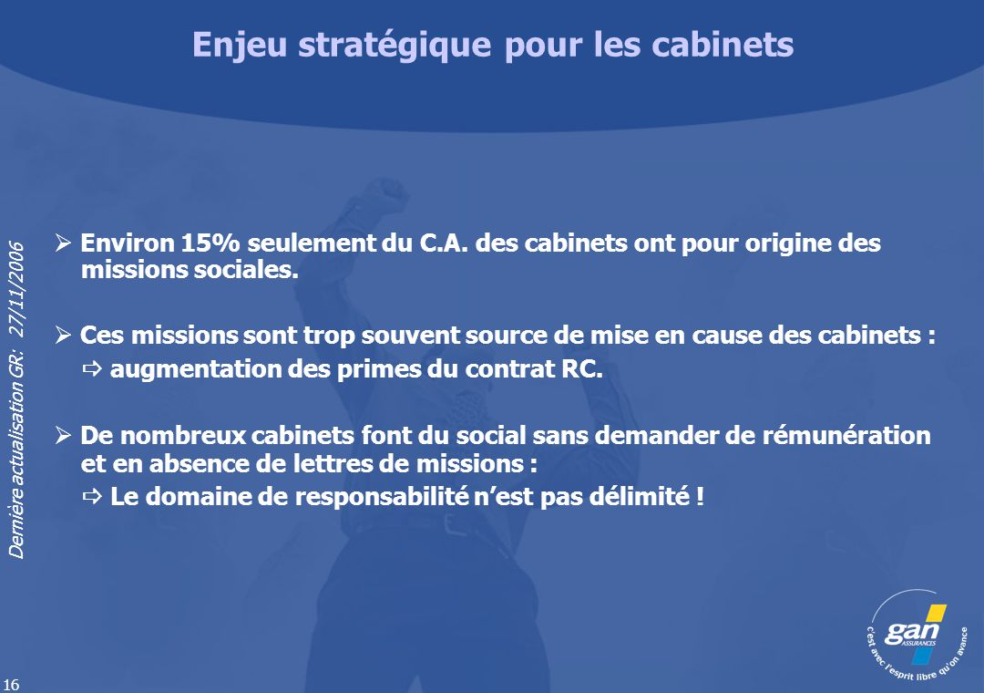 Enjeu stratégique pour les cabinets