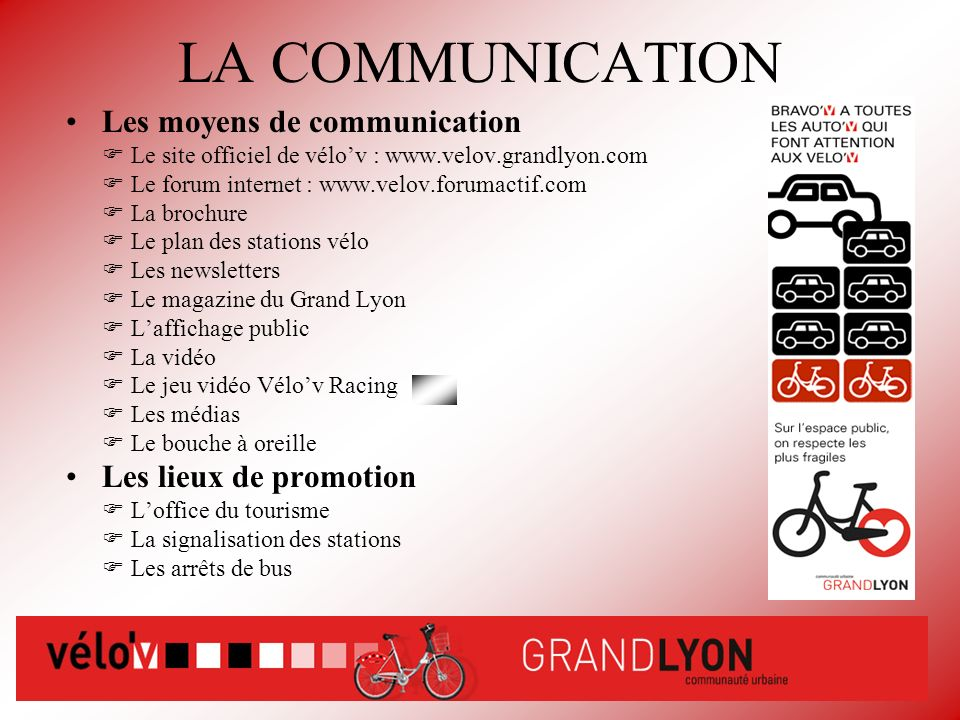 Velo 39 v ppt video online t l charger - Office du tourisme et des congres du grand lyon ...