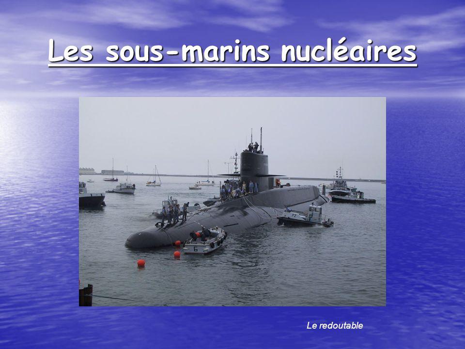 Les sous-marins nucléaires