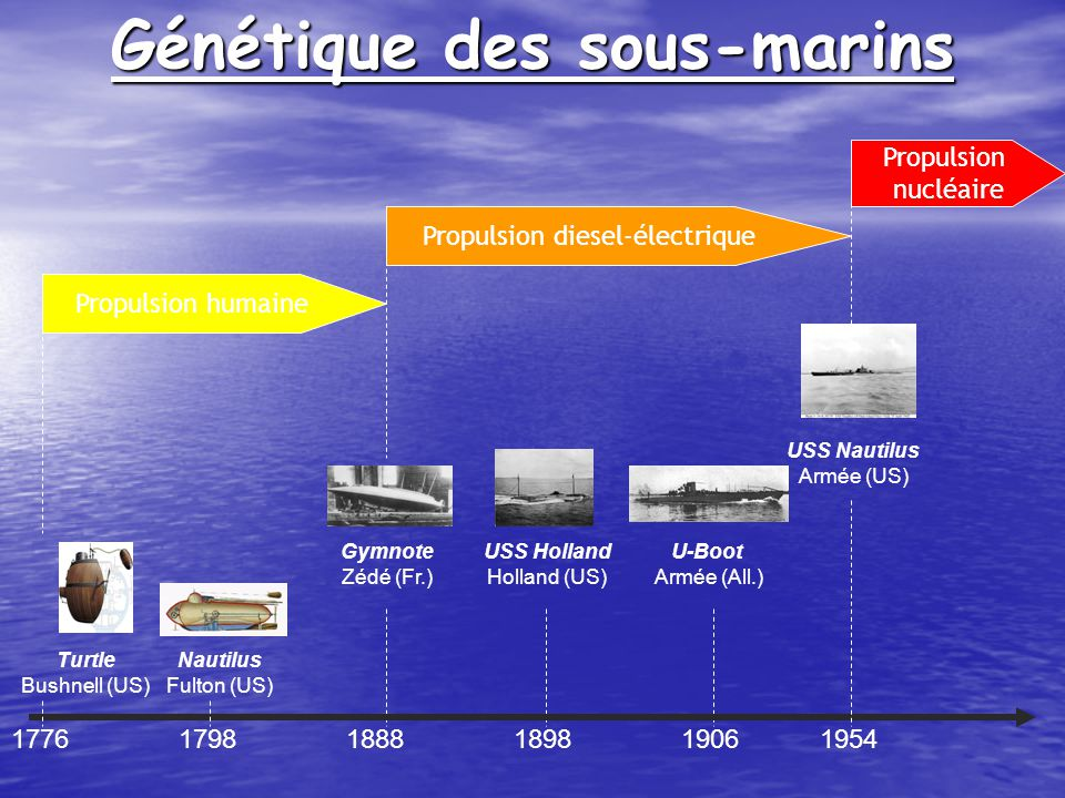 Génétique des sous-marins