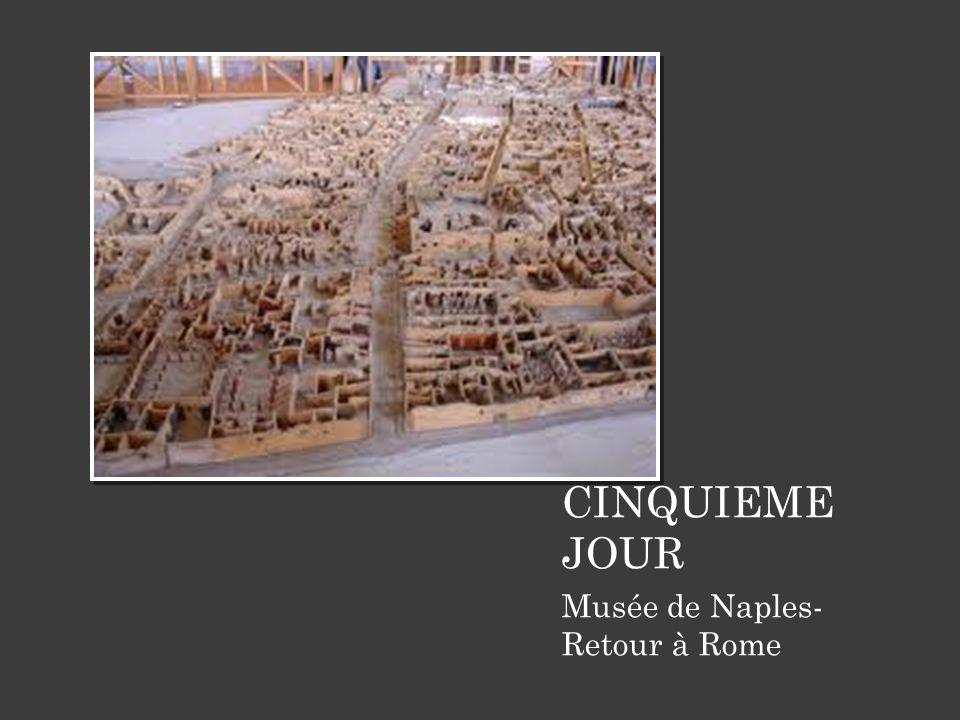 CINQUIEME JOUR Musée de Naples- Retour à Rome 10