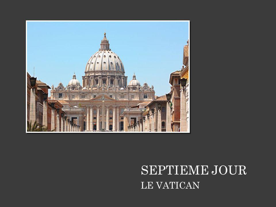 SEPTIEME JOUR LE VATICAN 14