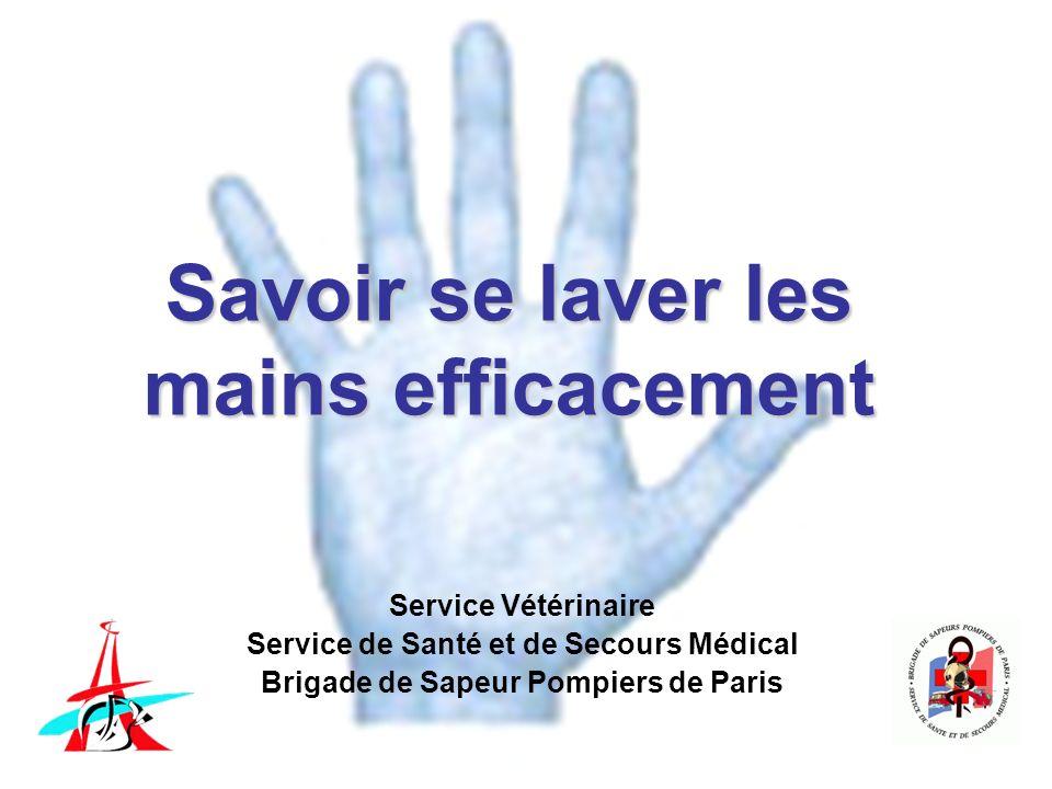 Savoir se laver les mains efficacement