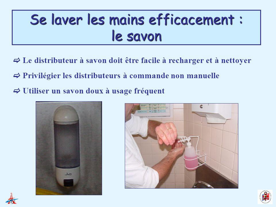 Se laver les mains efficacement : le savon