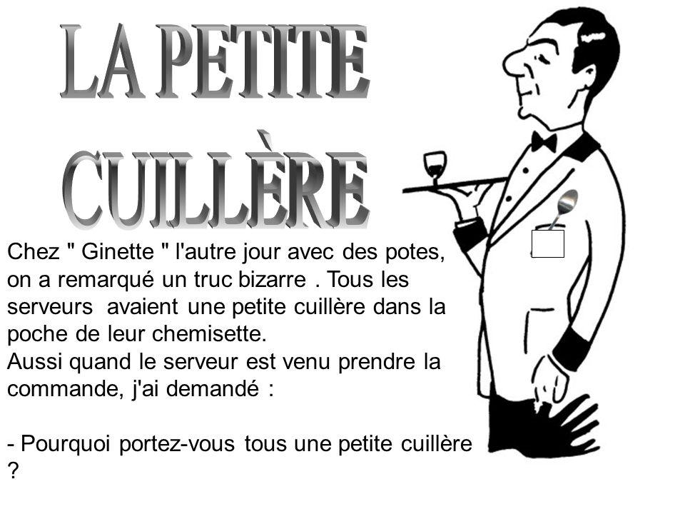 LA PETITE CUILLÈRE.