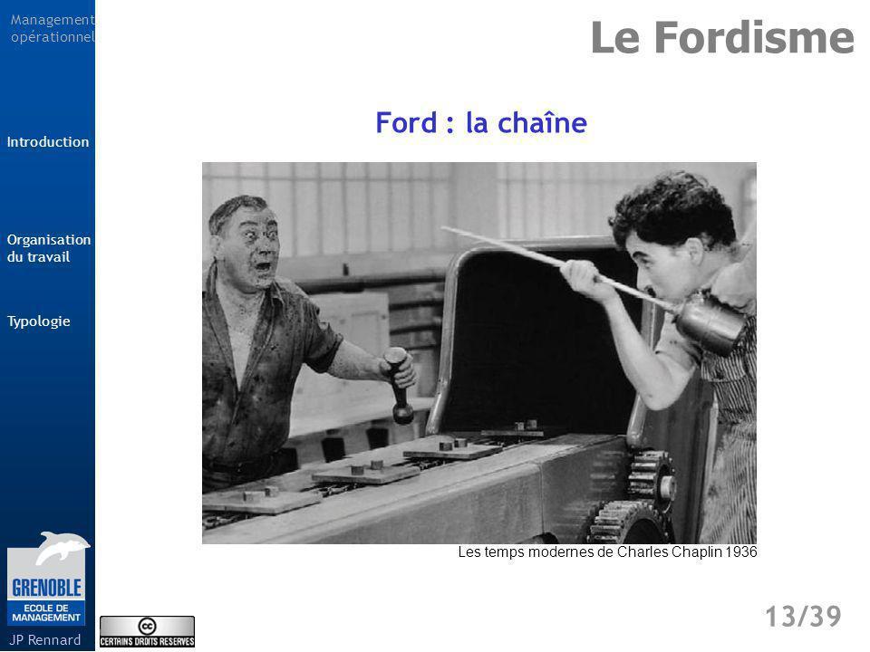 Le Fordisme Ford : la chaîne