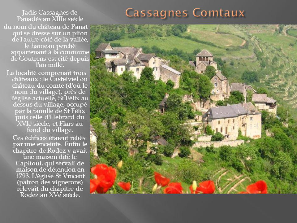 Jadis Cassagnes de Panadès au XIIIe siècle