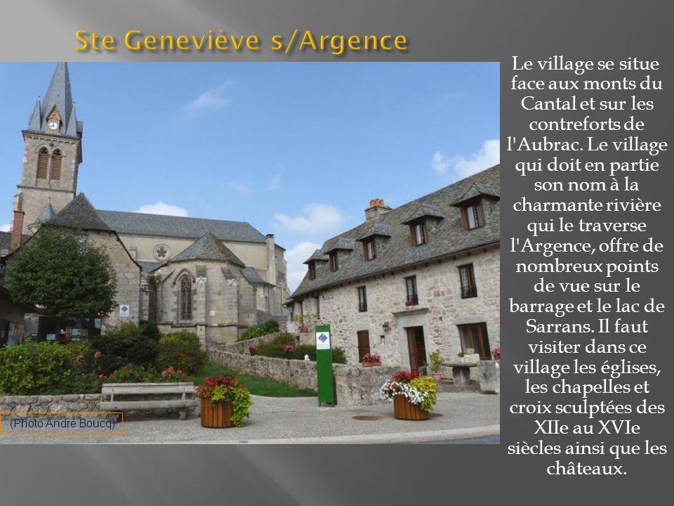 Ste Geneviève s/Argence