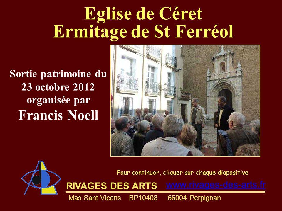 Sortie patrimoine du 23 octobre 2012 organisée par