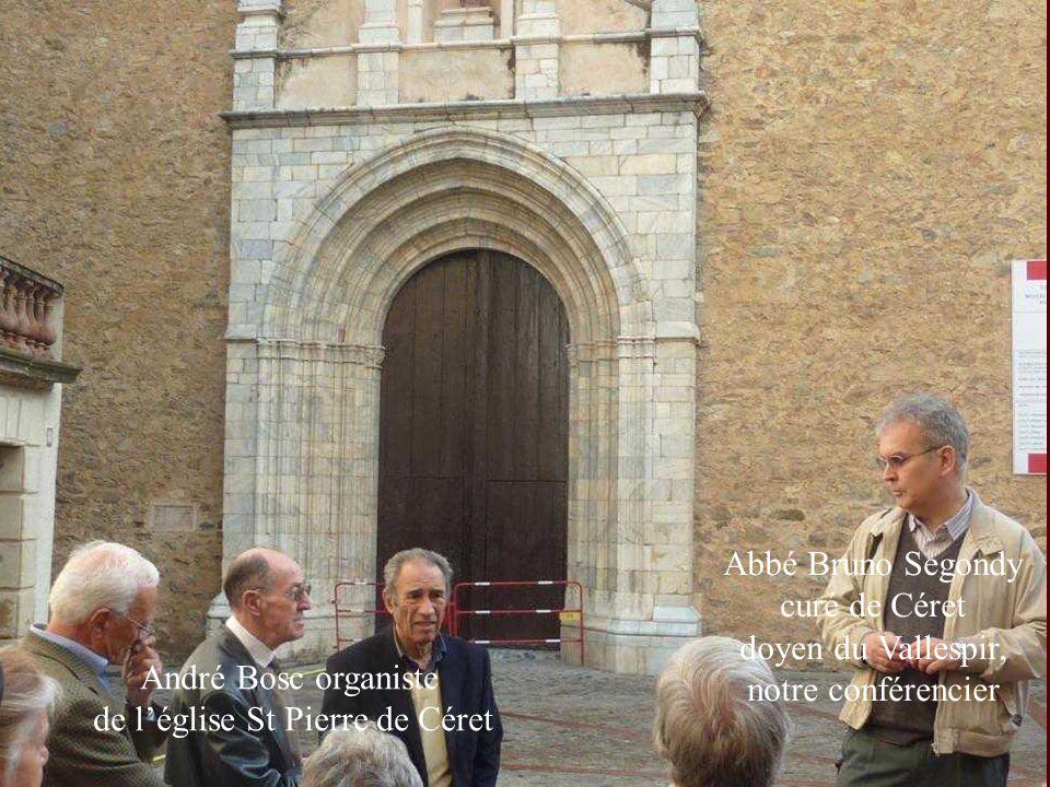 de l'église St Pierre de Céret