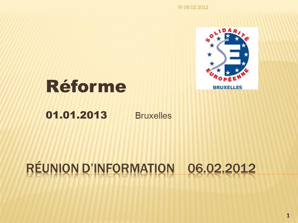Réunion d'information 06.02.2012