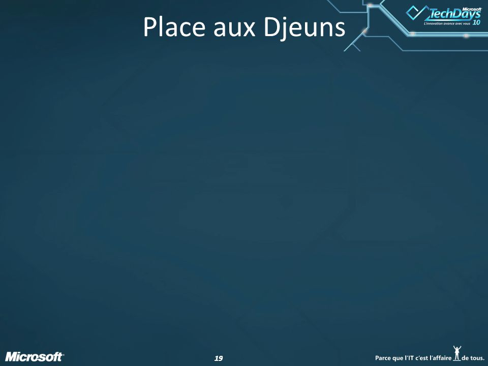 Place aux Djeuns