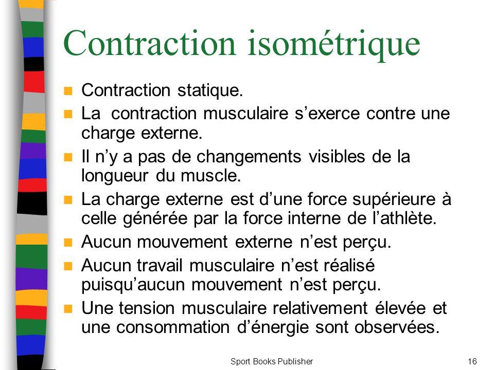 Contraction isométrique