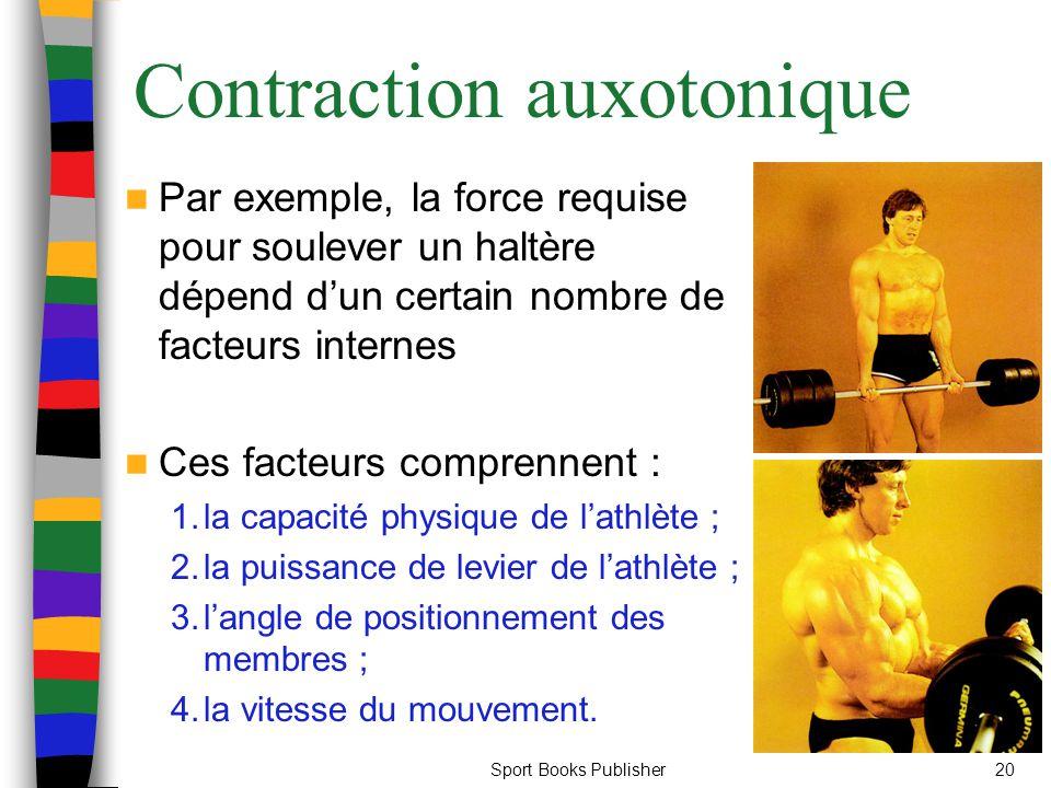 Contraction auxotonique