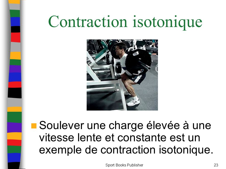 Contraction isotonique