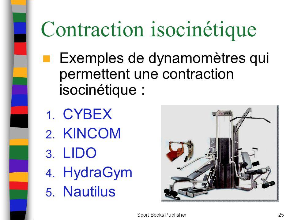Contraction isocinétique