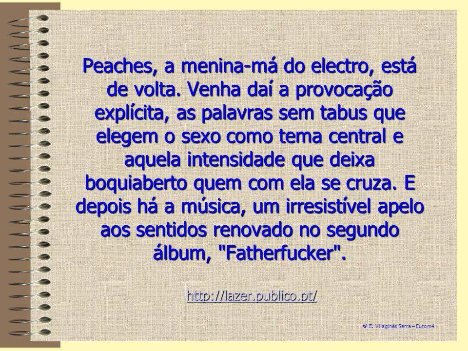 Peaches, a menina-má do electro, está de volta