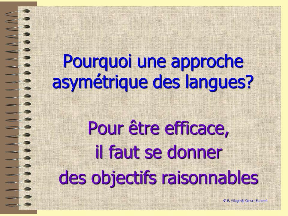 Pourquoi une approche asymétrique des langues