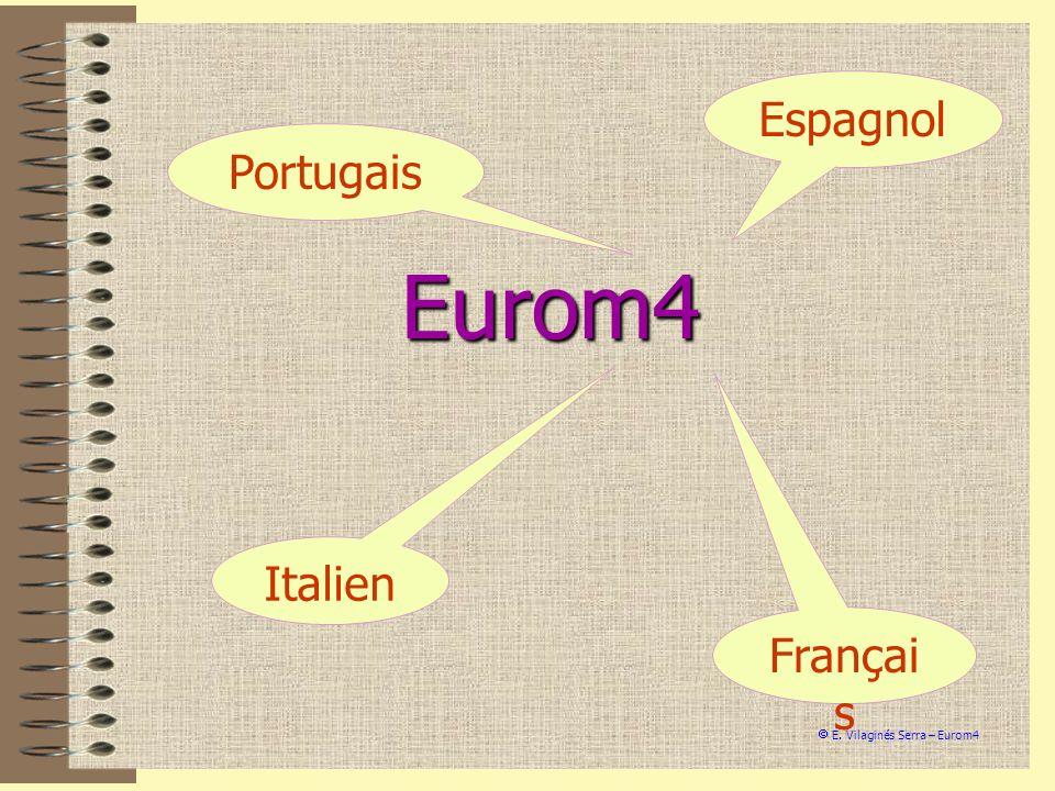 Eurom4 Espagnol Portugais Italien Français