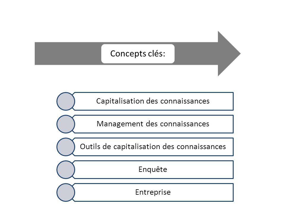 Capitalisation des connaissances Management des connaissances