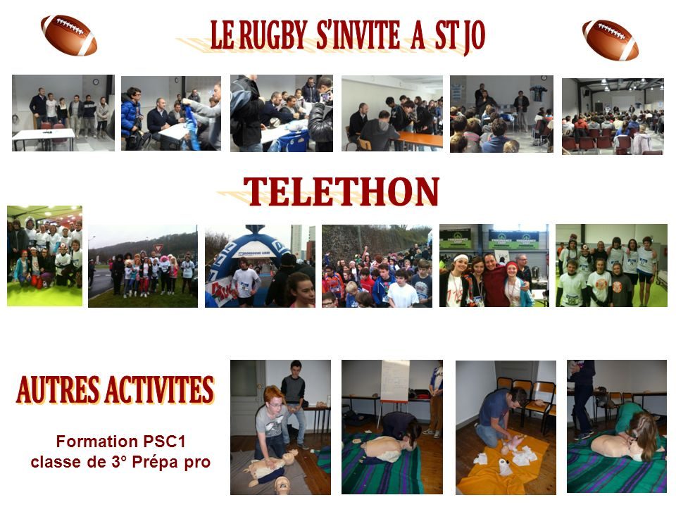 LE RUGBY S'INVITE A ST JO