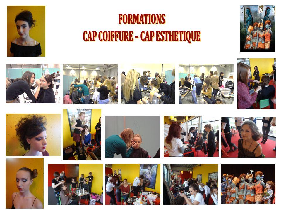 CAP COIFFURE – CAP ESTHETIQUE