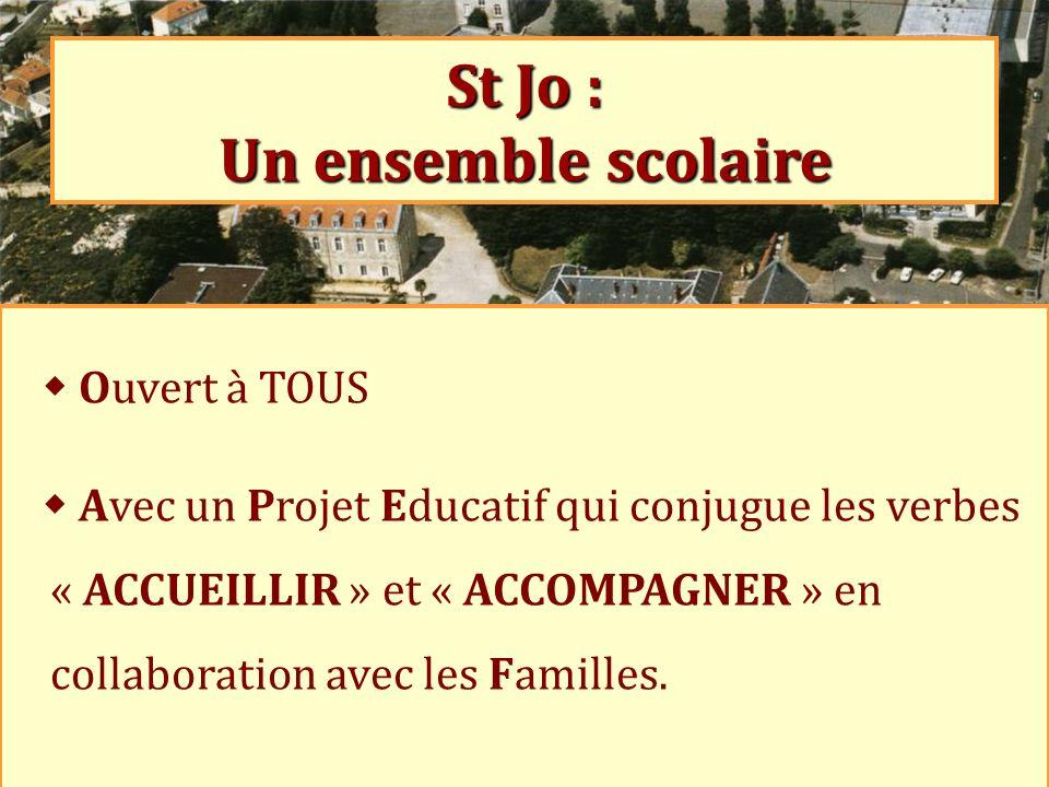 St Jo : Un ensemble scolaire