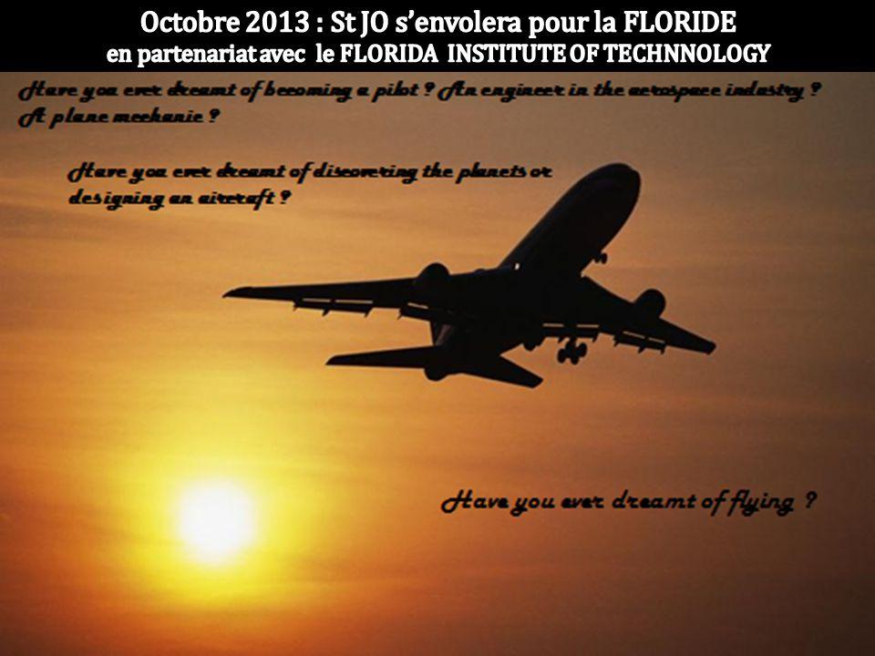 Octobre 2013 : St JO s'envolera pour la FLORIDE