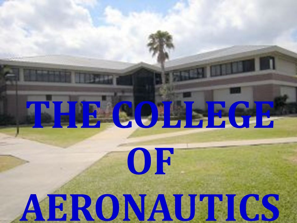 THE COLLEGE OF AERONAUTICS