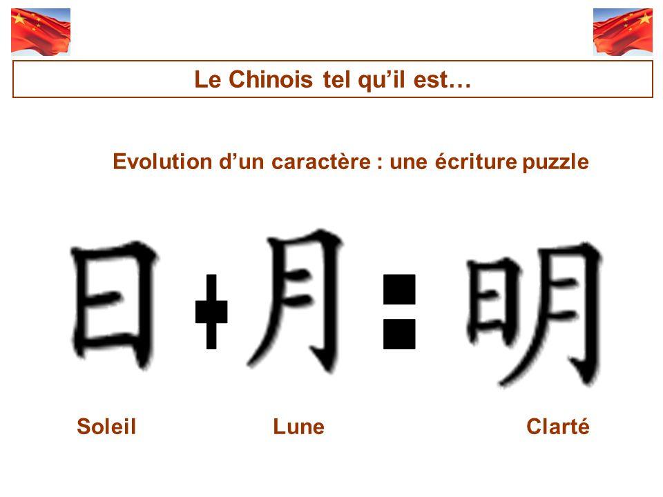+ = Le Chinois tel qu'il est…