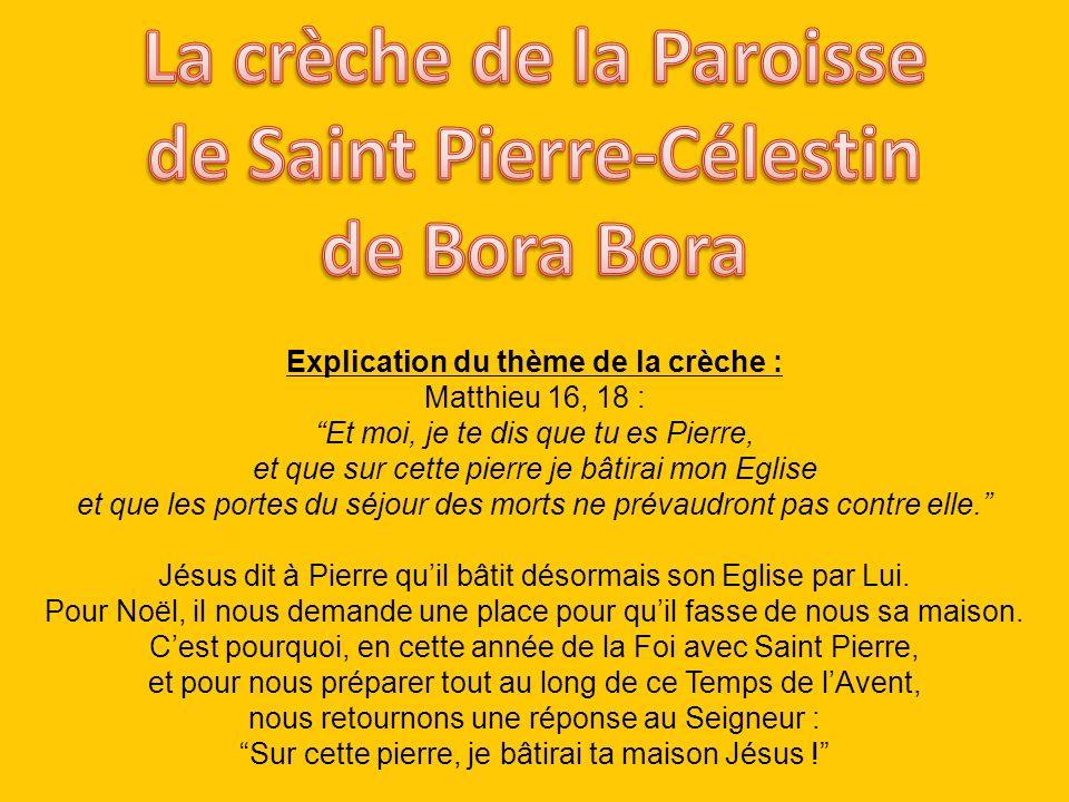 La crèche de la Paroisse de Saint Pierre-Célestin