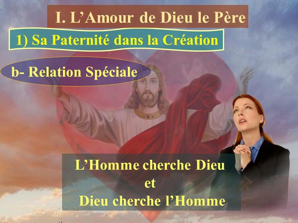 1) Sa Paternité dans la Création