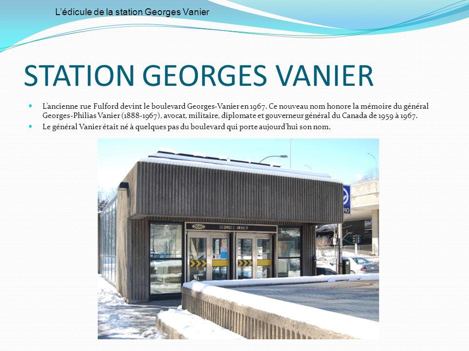STATION GEORGES VANIER
