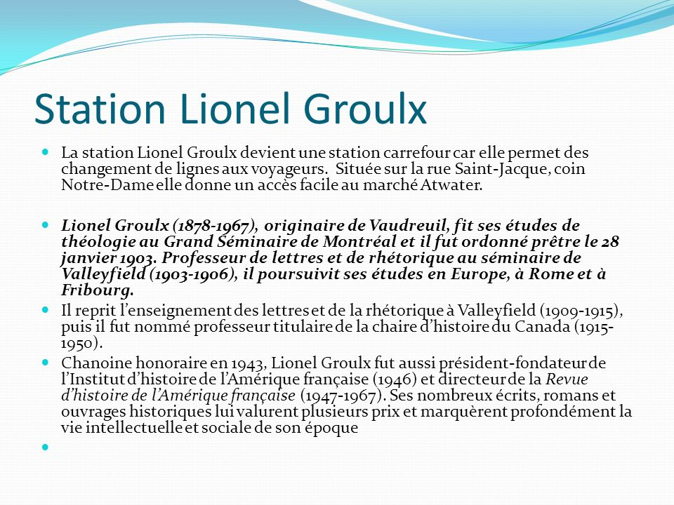 Station Lionel Groulx