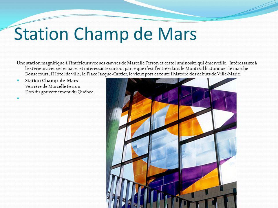 Station Champ de Mars