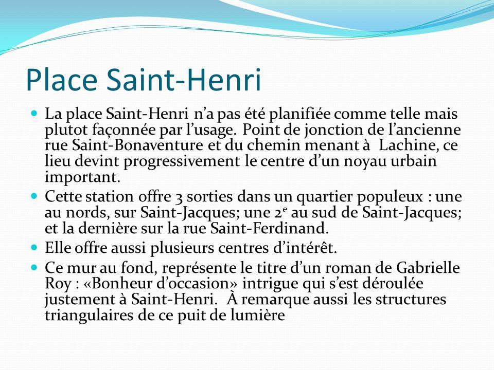 Place Saint-Henri