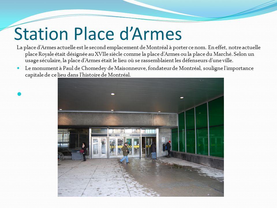 Station Place d'Armes