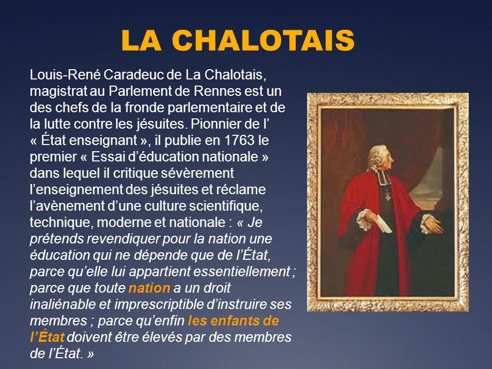 LA CHALOTAIS