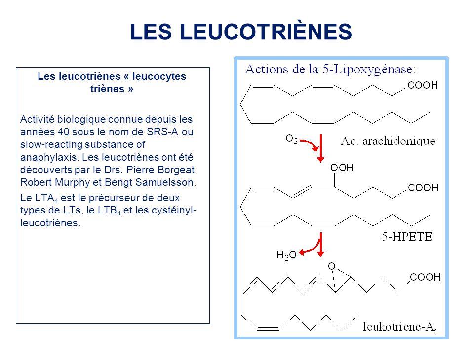 Les leucotriènes « leucocytes triènes »
