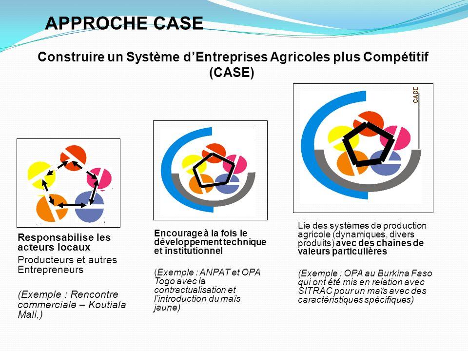Construire un Système d'Entreprises Agricoles plus Compétitif (CASE)