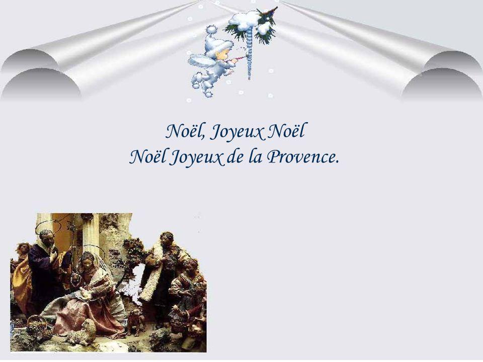 Noël Joyeux de la Provence.