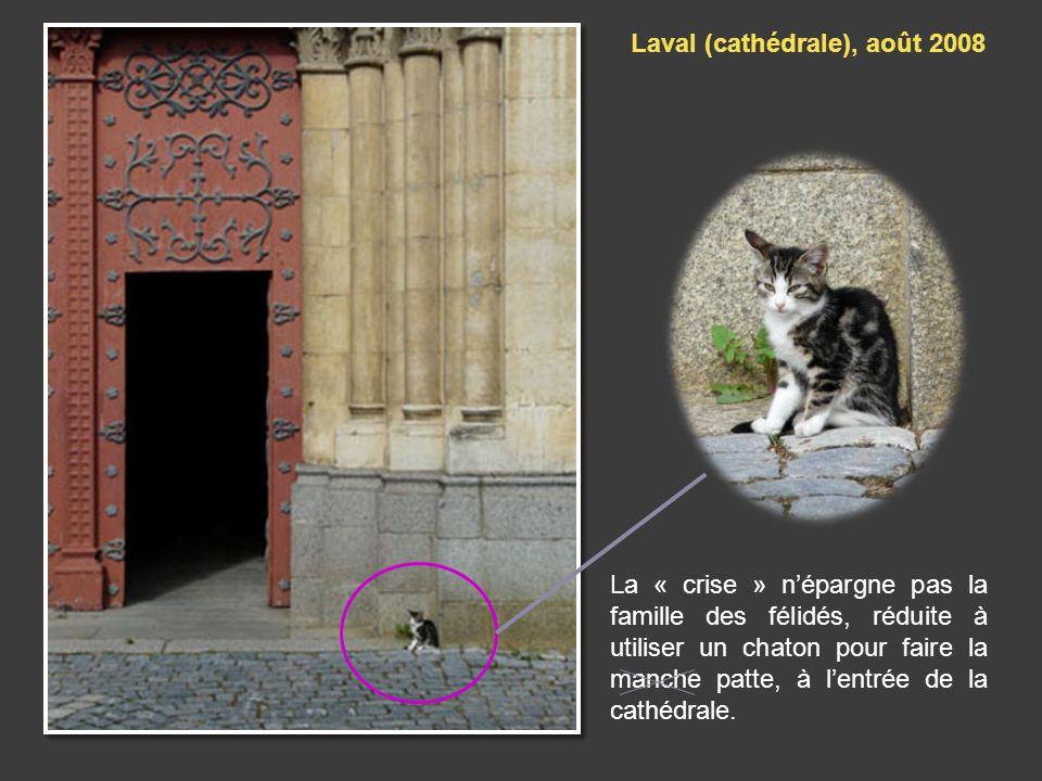 Laval (cathédrale), août 2008