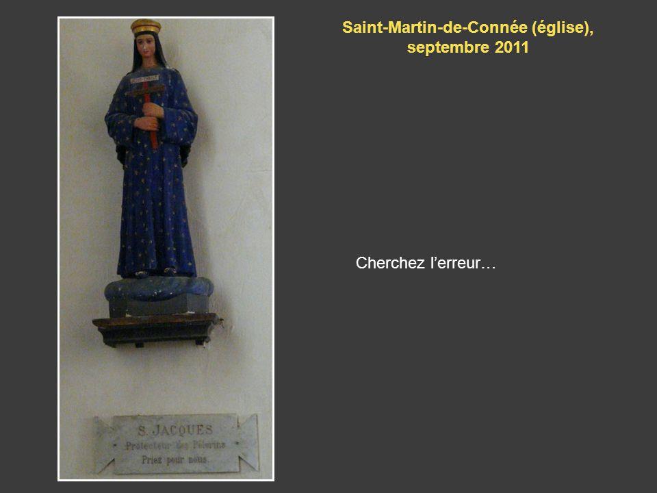 Saint-Martin-de-Connée (église), septembre 2011