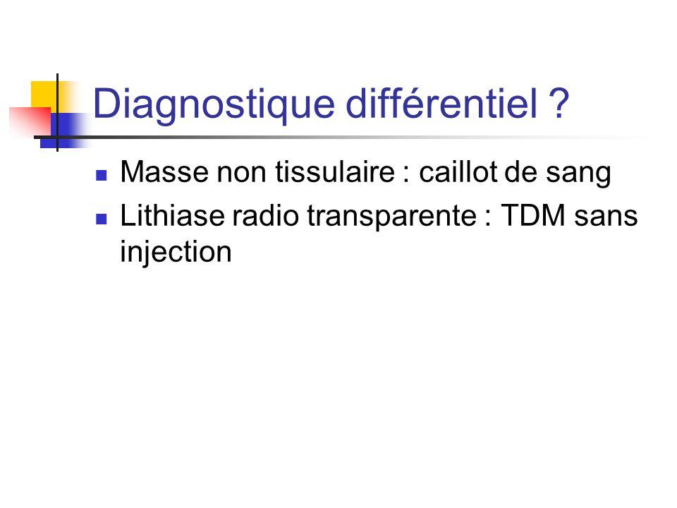Diagnostique différentiel