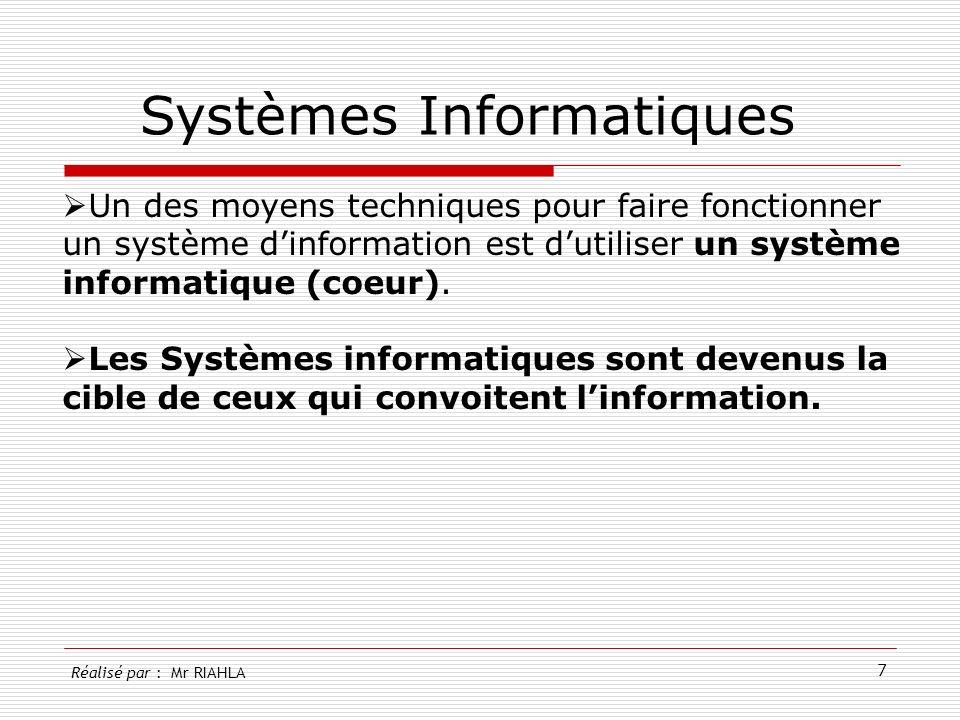 Systèmes Informatiques