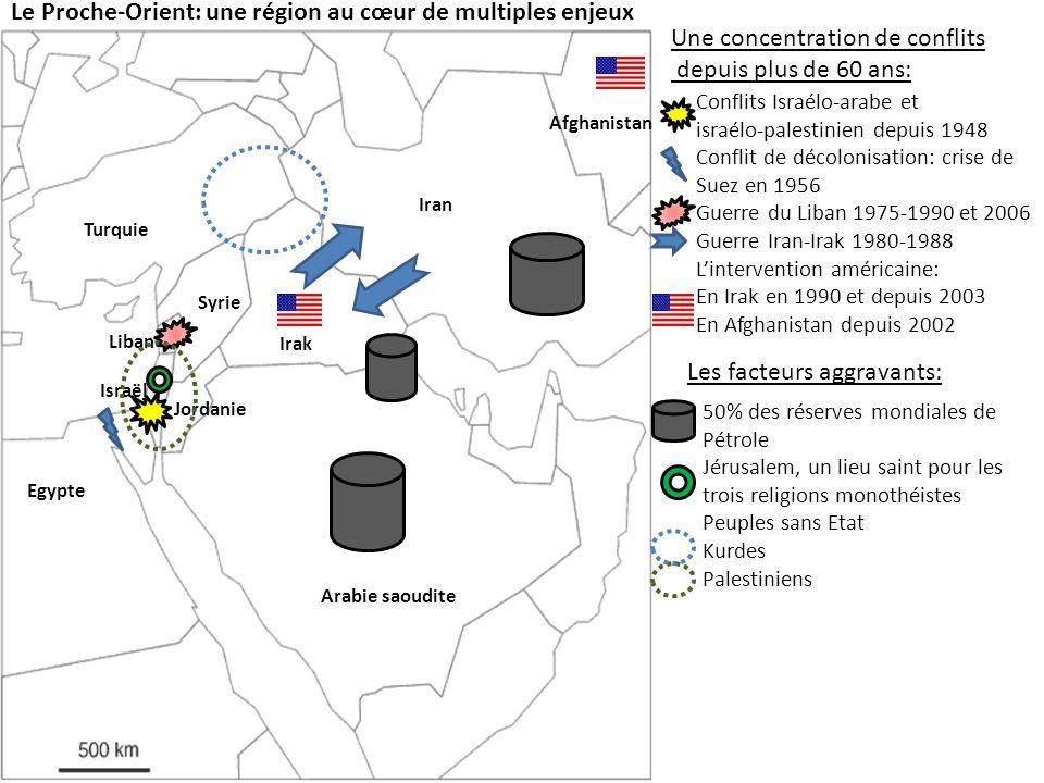 Le Proche-Orient: une région au cœur de multiples enjeux