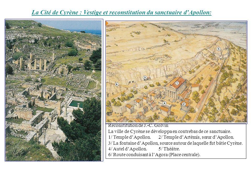 La Cité de Cyrène : Vestige et reconstitution du sanctuaire d'Apollon: