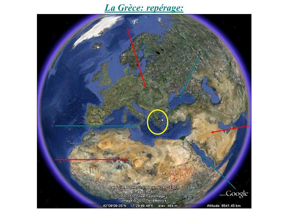 La Grèce: repérage: